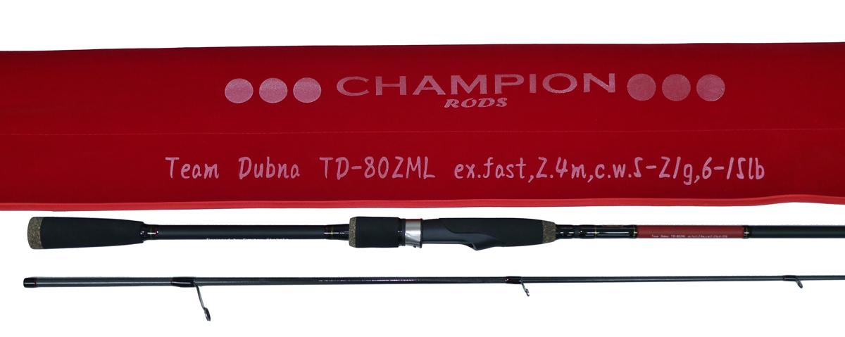 Спиннинговое удилище Team Dubna TD-842M